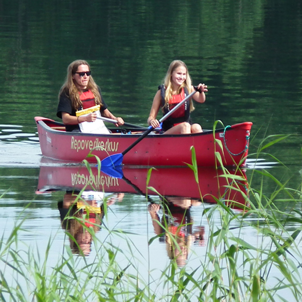 Canoeing Picnic trip for two