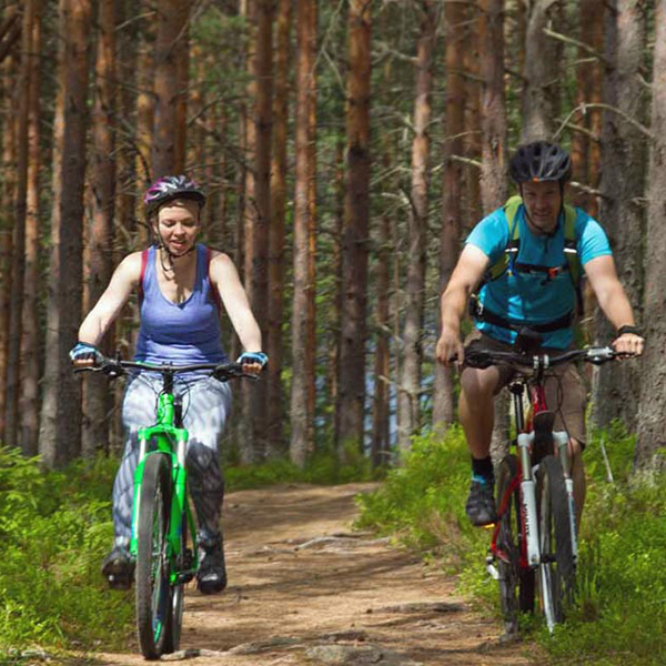 Bicycle trip to Repovesi National Park